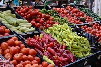 ירקות בשוק
