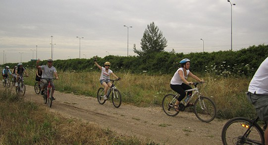 רוכבים על אפניים