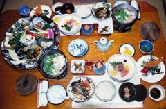 ארוחה יפנית מסורתית