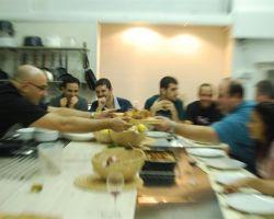 קבוצה מתוך סדנת בישול